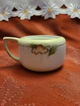 "Hand-painted Nippon Sugar Bowl Missing Lid 3"" wide (not including arm) x 2"" tall image 4"