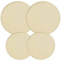 Reston Lloyd Electric Stove Burner Covers, Set of 4, Almond New - $13.70