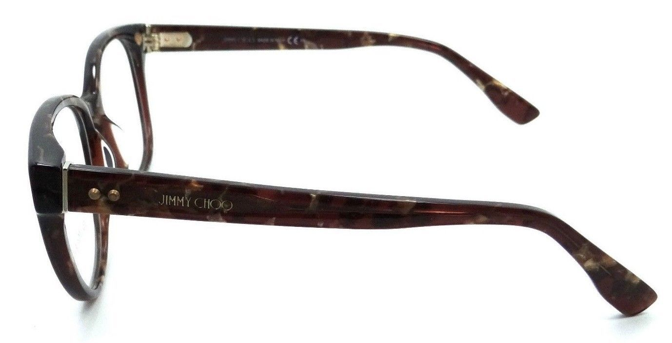 03446b3927d Jimmy Choo Rx Eyeglasses Frames JC 141 J3P 53-16-140 Brown Spotted Made