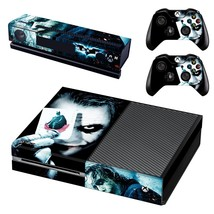 The Joker decal for xbox one console and 2 controllers - $15.00