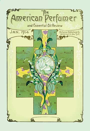 Primary image for American Perfumer and Essential Oil Review, January 1914 - Art Print