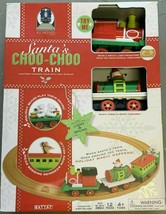 All Aboard by BATTAT Christmas Animated Santa's Choo-Choo Train Set NEW in BOX