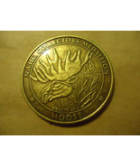 N.A.H.C. MOOSE MEDALLION COLLECTOR'S COIN       > BAG A19  - $6.43