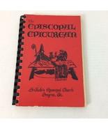The Episcopal Epicurean Cookbook 1979 St Jude's Smyrna GA Spiral Bound - $17.75