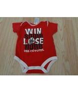 """Infant/Baby South Dakota USD Coyotes 3/6 Mo Creeper One-Piece """"Win Some ... - $9.49"""