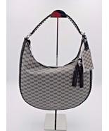 NWT MICHAEL Michael Kors Black Signature Logo Lauryn Large Hobo Shoulder... - $248.00
