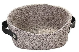 Black Temptation Cotton Soft Baskets Cosmetics Storage Basket for Little... - £23.65 GBP