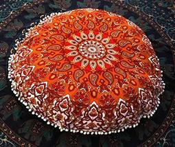 Traditional Jaipur Star Mandala Floor Cushions with Filler, Decorative T... - $52.46