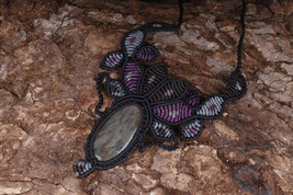Spiritual Gift for Yogi Tiger's Eye Stone Bridal Jewelry energy spiritua... - $18.00