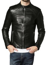 Cow Leather Jacket for Men Genuine Cow-Hide Jacket C357
