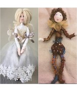 """""""Christmas Fairy and Jester"""" PDF Digital E-Pattern By Jan Horrox - $11.00"""