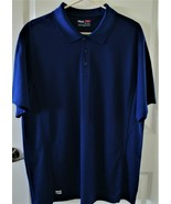 FILA Golf Blue Polo Shirt Size XL RN#73277 - $11.88