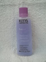 Original KMS California FLAT OUT Anti-Frizz SMOOTHING SERUM 2.5 oz ~ LOT... - $35.94