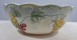 Lenox Tuscan Vine 9 Inch Round Serving Bowl/Vegetable Bowl - $59.99