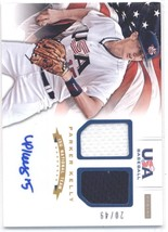 2012 Panini USA Baseball 15U National Team Dual Jerseys Signatures #12 Parker Ke - $10.00