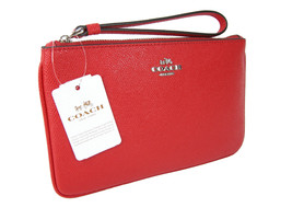 Coach Signature Large Wristlet Bag Purse Genuin... - $89.09