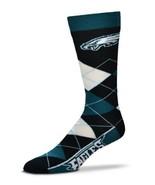 NFL Philadelphia Eagles Argyle Unisex Crew Cut Socks - One Size Fits Most - $11.95