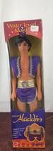 "1993 RARE Disney's Aladdin Water Jewel Magic Ken ""Barbie"" Doll - - $18.70"