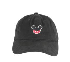 Vintage Walt Disney World Mickey Mouse Stitched Logo Adjustable Cotton Dad Hat - $24.70