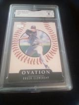 1999 Upper Deck Roger Clemens Ovation GMA Graded 8 NM-MT Baseball Card N... - $7.75