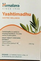 Yashtimadhu Extract Of Glycyrrhiza Glabra 250mg Gastric Wellness 60 Tablets - $15.42