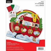 Bucilla - 'Noah's Ark Wall Hanging' Felt Applique Embroidery Kit - 86987E - $41.99