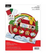 Bucilla - 'Noah's Ark Wall Hanging' Felt Applique Embroidery Kit - 86987E - $41.99