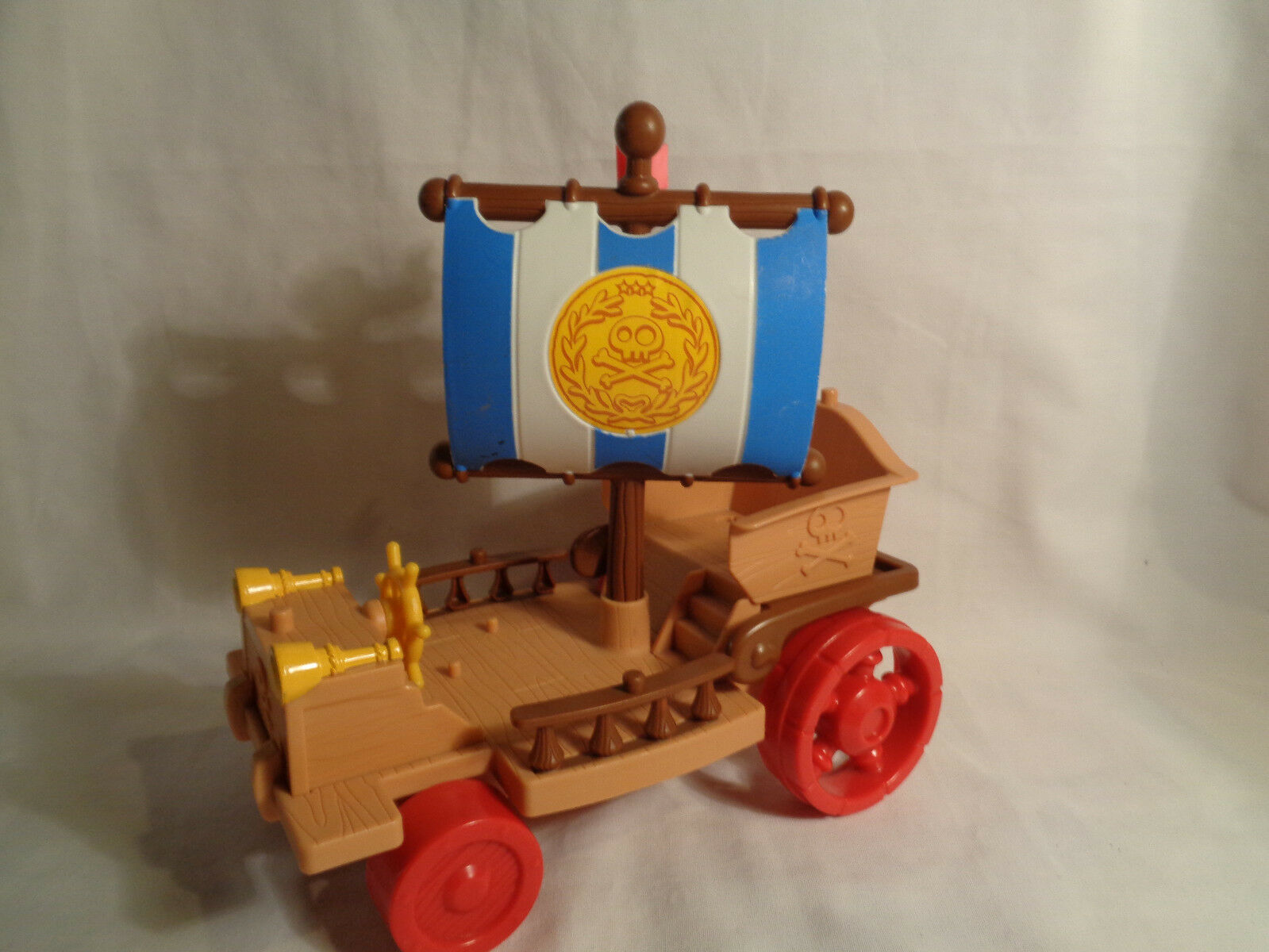 Primary image for 2012 Mattel Disney Jake & the Neverland Pirates Ship Car