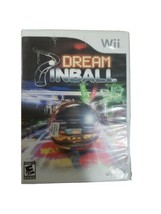 Dream Pinball 3D (Nintendo Wii, 2008) damage to on front of case and side - $9.49