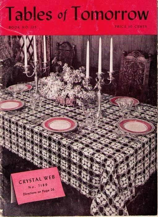 TABLES of TOMORROW - 1939 Star Crochet Book No. 135