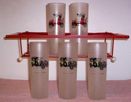 1950'S/1960'S Retro --FROSTED Automobile Bar Set - $19.95