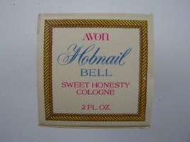 Avon Decanter Hobnail Bell Sweet Honesty Cologne 2 Fl Oz Original Box Vi... - $6.82