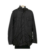 POLO RALPH LAUREN Black Water Resistant Hooded Nylon Combat Jacket XL - $159.99