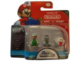 Jakks Pacific Nintendo Fire Luigi Dry Bones BOO Mini Figures New Sealed - $52.35
