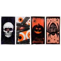 "Halloween Light Up Party Decoration Haunted Door Cover 30"" x 60"" Inches"