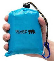 BEARZ Outdoor Beach Blanket/Compact Pocket Blanket 55?x60? - Waterproof,... - $30.16