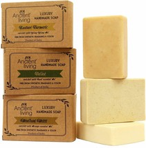 Ancient Living Daily Bath needs Handmade soaps Natural ingredients 100gm... - $20.66