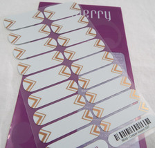 Jamberry Copper Ascent 0317 96A9 Nail Wrap Full Sheet - $13.45