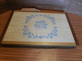 Vintage Blue Cornflower Warm-O-Tray  for Table or Buffet - Tested - $19.79