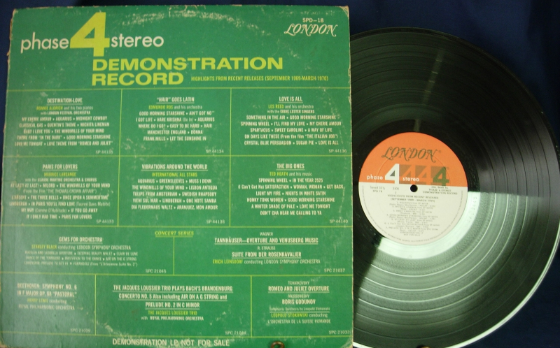 Phase 4 Demonstration Record - London SPD-18 - Various Artists