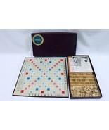 ORIGINAL Vintage 1953 Selchow + Righter Scrabble Board Game   - $59.39