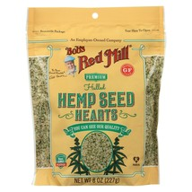 Bob's Red Mill Hulled Hemp Seed Hearts, Case of Six - 8 Oz Zip Pouches - $42.58