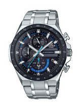 Casio Men's Solar Powered Edifice Stainless Steel Watch - $145.80