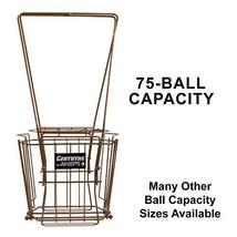 Gamma Sports Ballhopper Premium Pro 75 HiRise Gold Tennis Ball Pickup – ... - $59.98