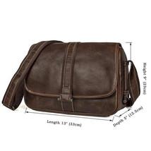 Sale, Work Bag, Messenger Bag, Men's Vertical Messenger Bag, Sling Messenger Bag image 1