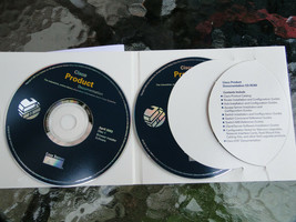 Cisco Product Documentation 83-1085-01 2 CD Set  Macintosh, Windows, UNIX - $12.74