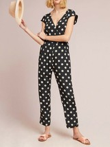 Anthropologie Corey Lynn Calter Wrapped Jumpsuit Polka Dot $188 Sz M - NWT - $129.99