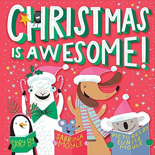 Primary image for Christmas Is Awesome! (A Hello!Lucky Book) [Board book] Hello!Lucky; Moyle, Sabr