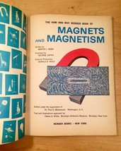 Vintage Childrens book: 1963 How and Why Wonder Book of Magnets and Magnetism image 3