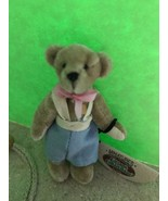 Ganz Cottage Collectibles Miniatures Teddy Bear ~ Billy ~ MWT, COA & Bag... - $9.99